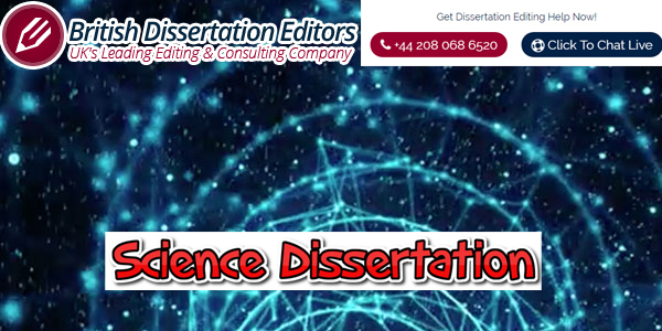 Science Dissertation Writing